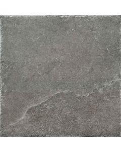 Dark Grey 450x450mm Porcelain Indoor or Outdoor Stone Effect Floor Tile |Tiles360