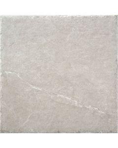 Light Grey 450x450mm Porcelain Indoor or Outdoor Stone Effect Floor Tile |Tiles360
