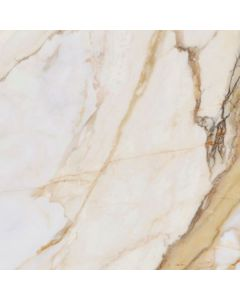 White and Gold Marble Effect Floor Tile - Classica Range | Tiles360