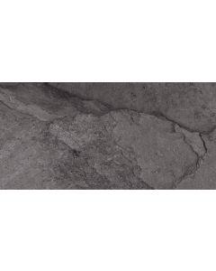 Slate Effect Wall and Floor Tile - Black |Tiles360