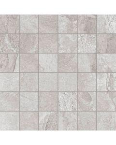 Mosaic Wall and Floor Tile - Slate Effect Grey |Tiles360