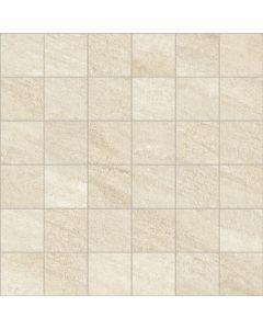 Stone Effect Wall and Floor Mosaic Tile Beige- Estuary Range | Tiles360