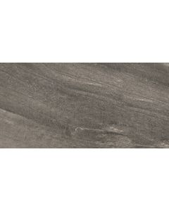 Stone Effect Wall and Floor Tile Graphite - Estuary Range | Tiles360
