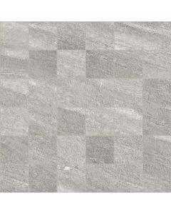 Stone Effect Wall and Floor Mosaic Tile Grey - Estuary Range | Tiles360