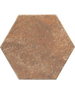 Brown Hexagon Stone Effect Floor Tile - Felix Range |Tiles360
