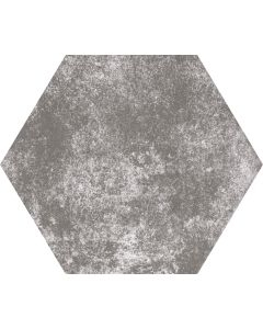 Grey Hexagon Stone Effect Floor Tile - Felix Range |Tiles360