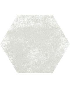 White Hexagon Stone Effect Floor Tile - Felix Range  Tiles360