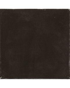 Black Glossy Retro Square Wall Tiles - Gemma Range |Tiles360