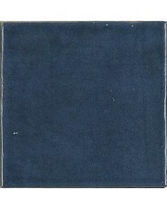 Blue Glossy Retro Square Wall Tiles - Gemma Range |Tiles360