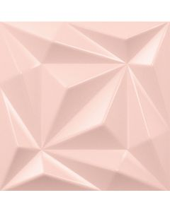 Pink 3D Feature Wall Tile 150mm x 150mm - Honor | Tiles360