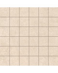 Stone Effect Tile Mosaic Cream - Kram Range | Tiles360