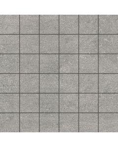 Stone Effect Tile Mosaic Silver - Kram Range | Tiles360
