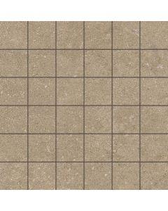 Stone Effect Tile Mosaic Taupe - Kram Range | Tiles360