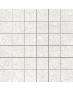 Stone Effect Tile Mosaic White - Kram Range | Tiles360