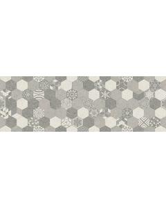 Hexagon Patterned Decorative Wall Tile - Madurai Range | Tiles360