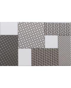 Metallic Patterned Wall Tile with Satin Finish - Orinoco Range | Tiles360