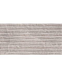 Grey Stone Effect Decor Wall Tile - Snowdon Range | Tiles360