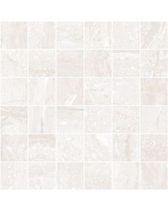 Stone Effect Wall and Floor Tile Mosaic Grey - Strata Range | Tiles360