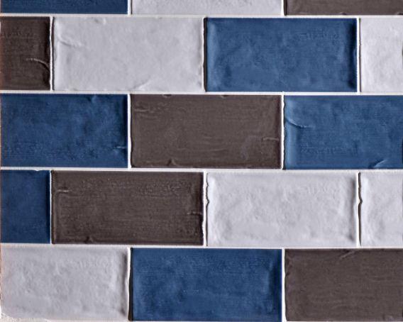 Brick Shaped Kitchen Wall Tile Graphite Florence Range Tiles360