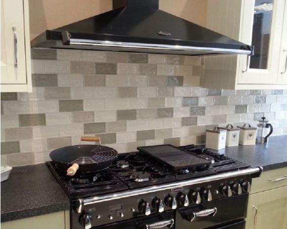 Brick Shaped Kitchen Wall Tile Avocado Florence Range Tiles360