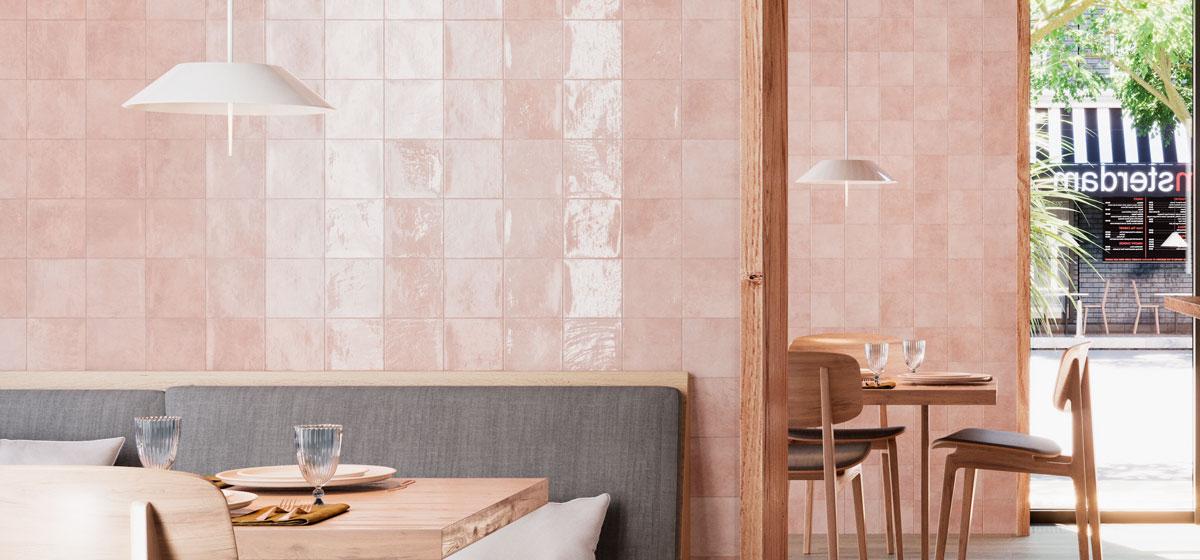 Pink Wall Tiles
