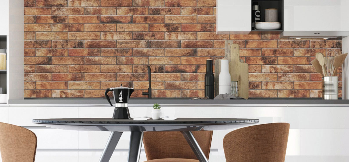 Brick Effect Wall Tiles